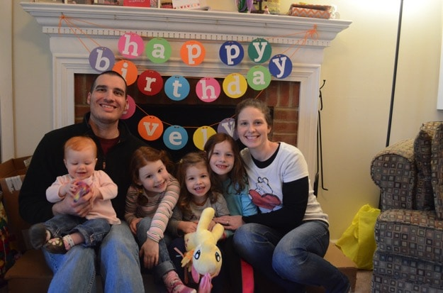 E's third birthday | #disneyside