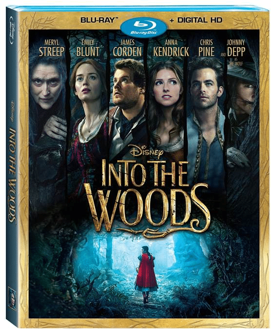 Disney's Into the Woods is Out on Blu-Ray