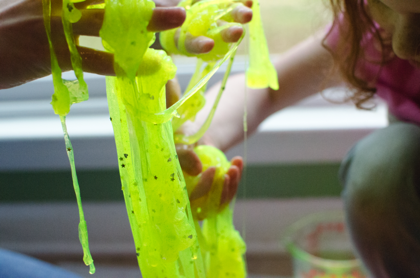 How to make scented glow-in-the-dark slime [VIDEO]
