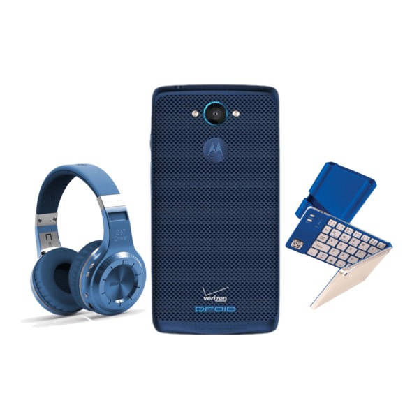 Go Blue! Send Your Grad to College with DROID Turbo Sapphire Blue