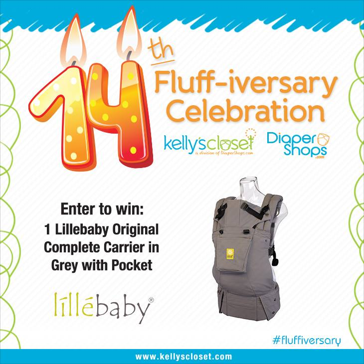 Win a LILLEbaby Original Grey Carrier with Pocket