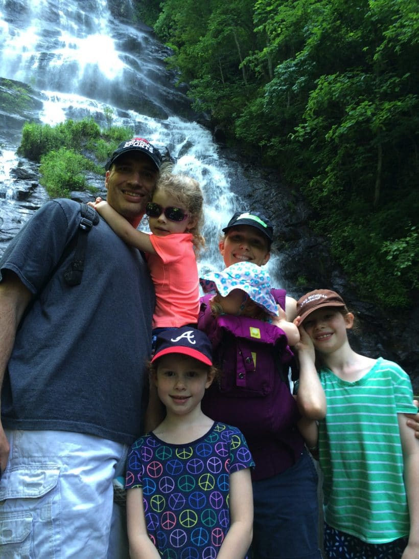 Amicalola Falls State Park with VIDEO | Mommy and Me Monday | 278th ed