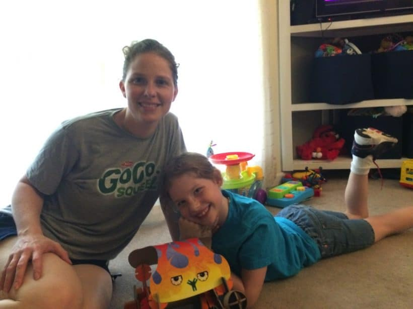 Building with my girl | Mommy and Me Monday |  277th ed