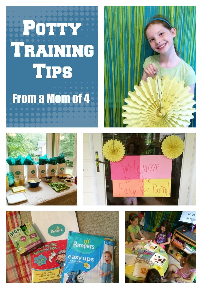 Potty Training Tips from a Mom of 4