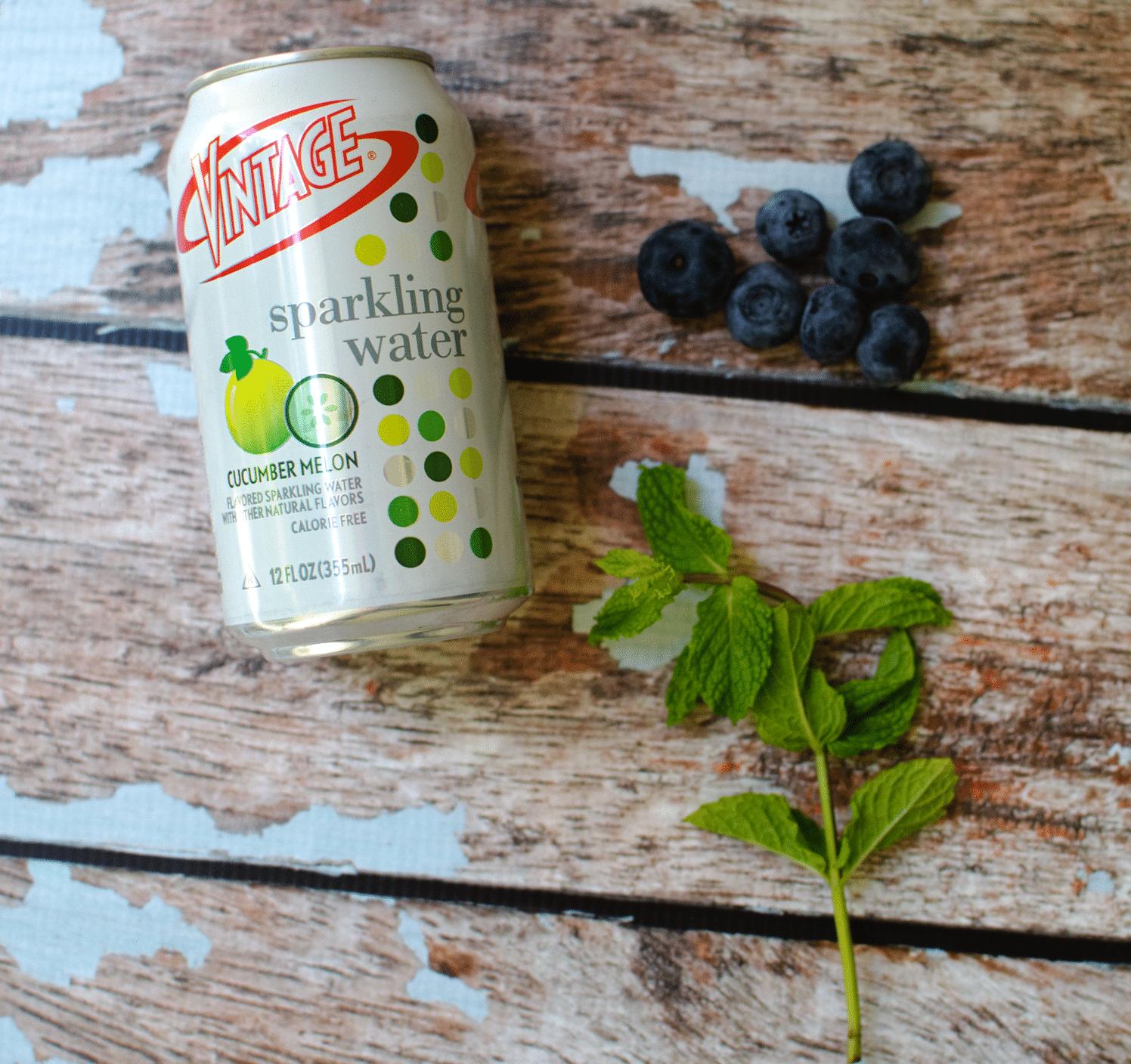 Blueberry Mock-jito | Mock Mojito Low calorie