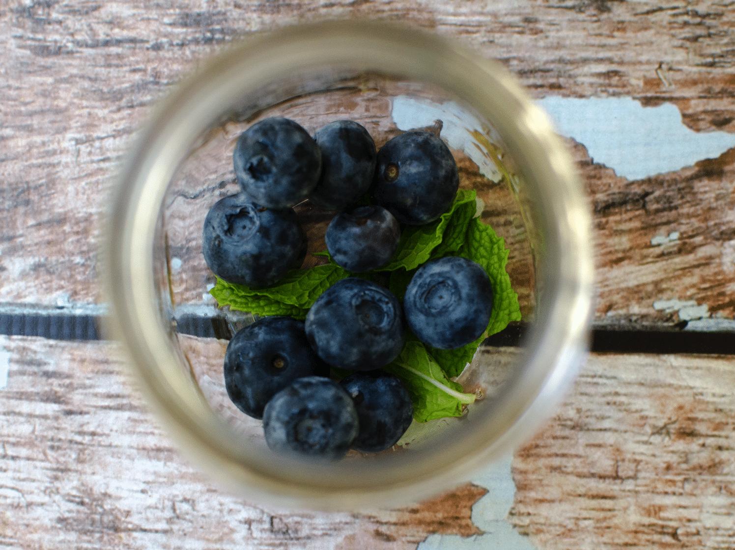Mock-jito Mock Mojito Blueberry Low Calorie