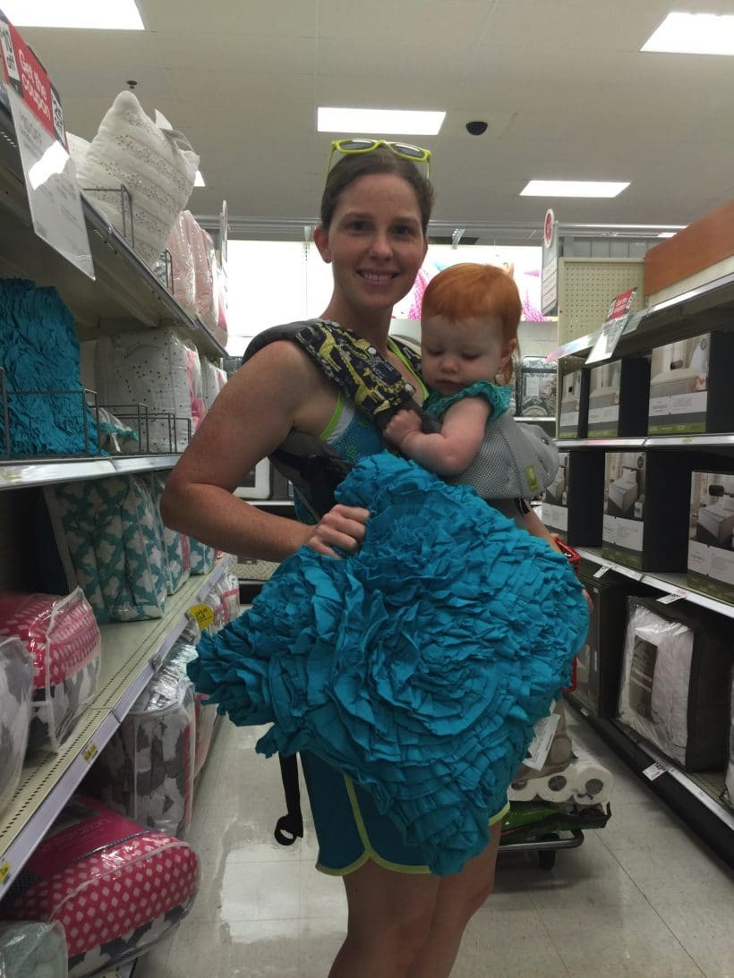Finding teal at Target | Mommy and Me Monday | 284th ed