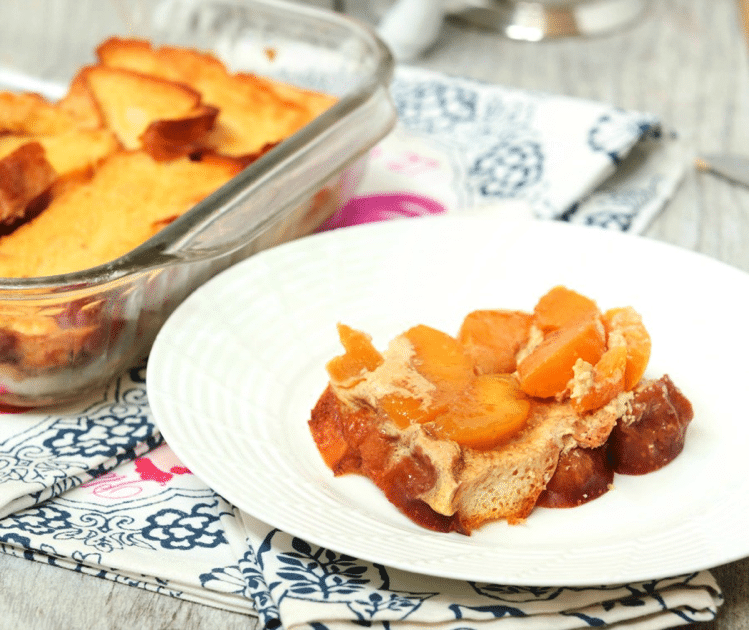 Peach Upside Down French Toast