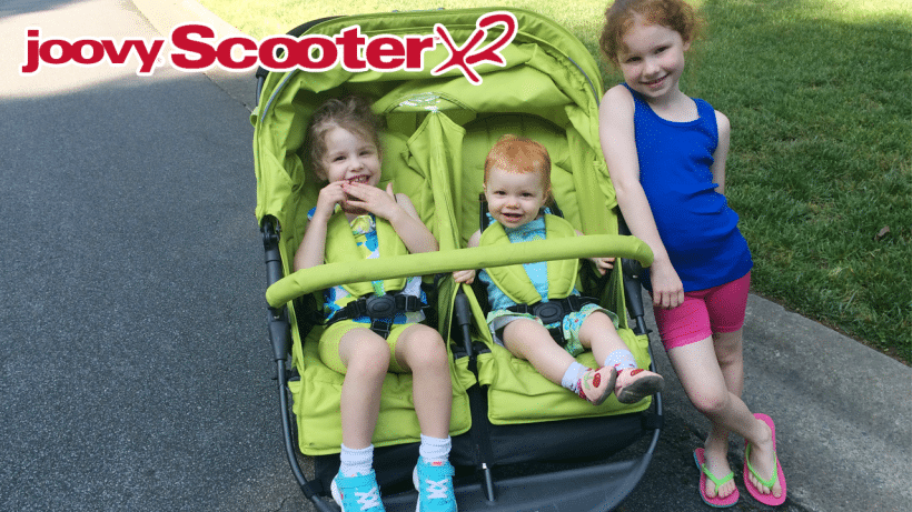 Our Disney Double Stroller | Joovy Scooter X2 Review {VIDEO}