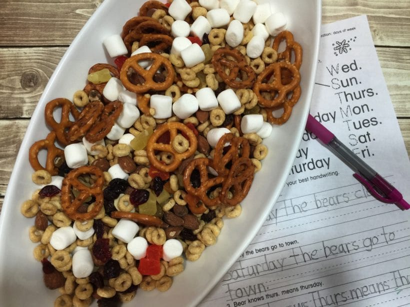 """Gluten Free Tasty After School Mix for """"Hangry"""" Kids"""