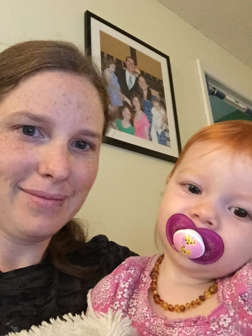 Little Red and Me | Mommy and Me Monday | The 289th ed