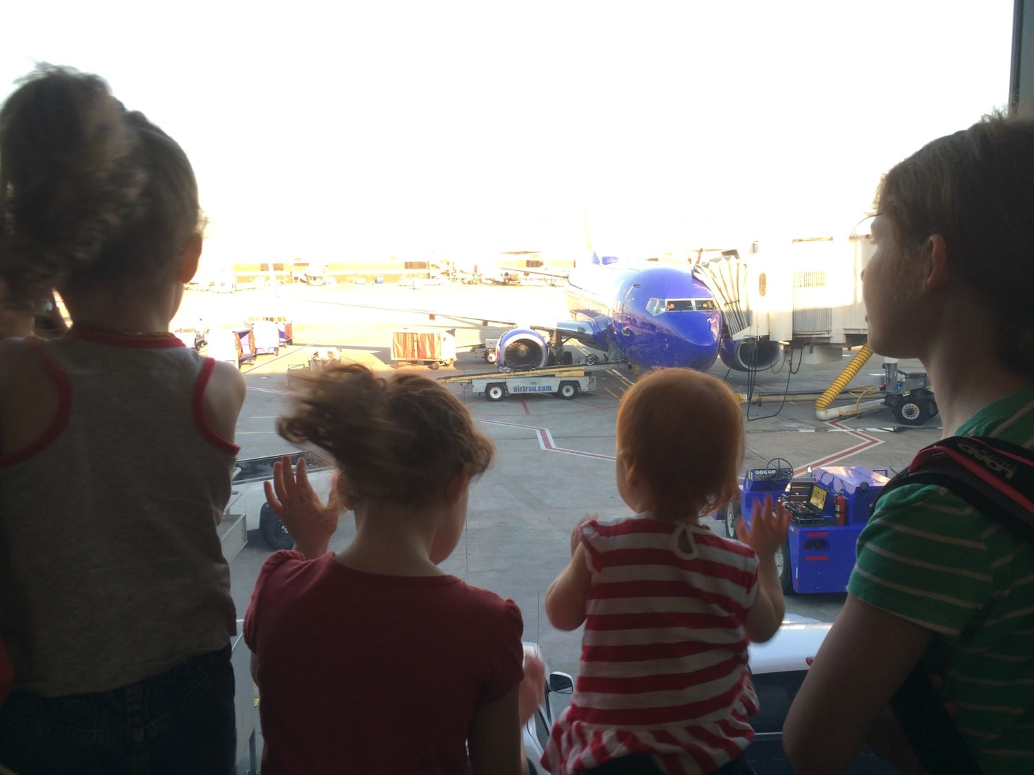 Flying with babies and kids