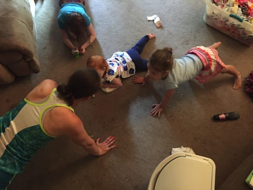 Push-Ups and Babywearing | Mommy and Me Monday | 290th ed