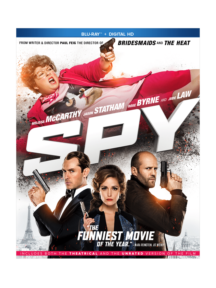 Spy Blu-Ray Giveaway