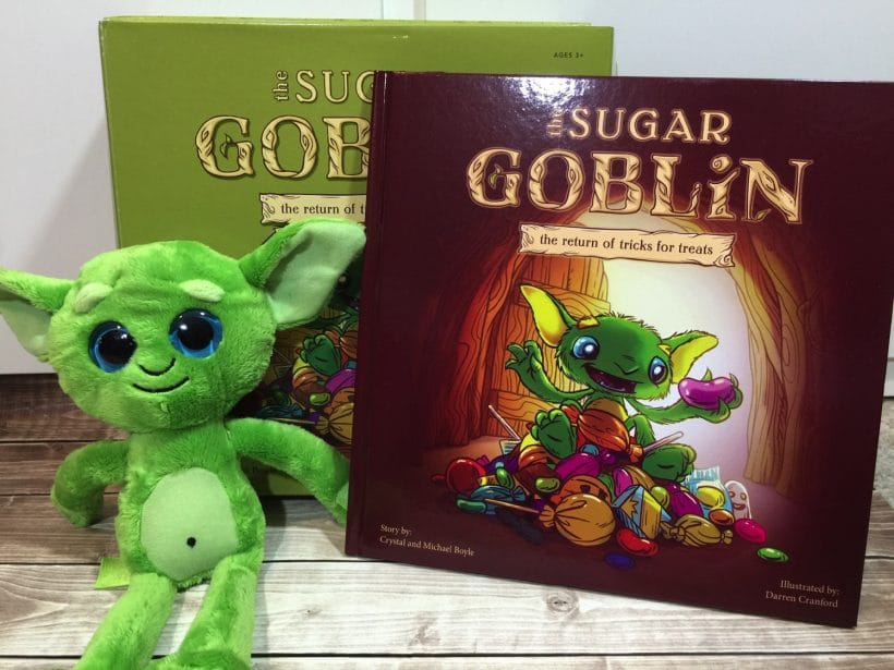 The Sugar Goblin | The Return of Tricks for Treats with VIDEO