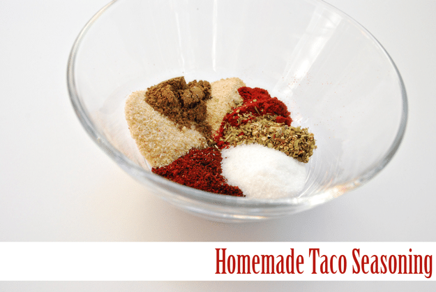 Homemade Taco Seasoning with a secret ingredient