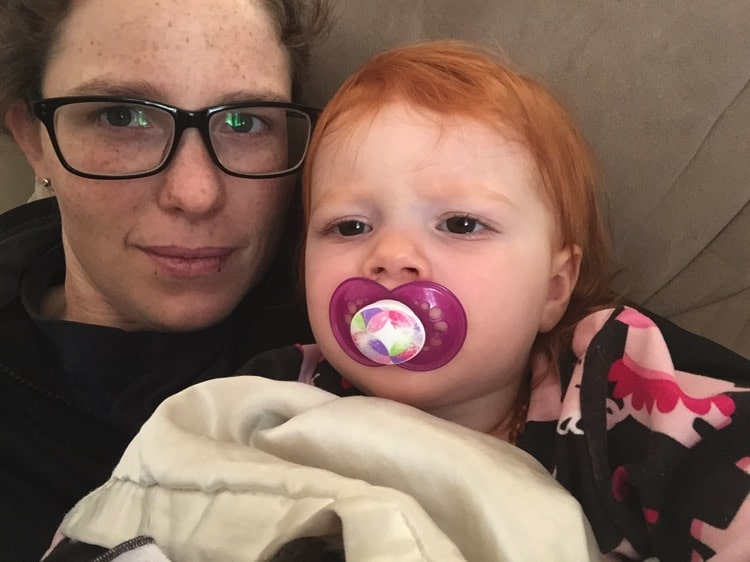 Thankful for snuggles | Mommy and Me Monday | 302nd ed
