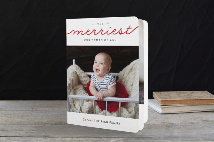 Minted holiday booklet