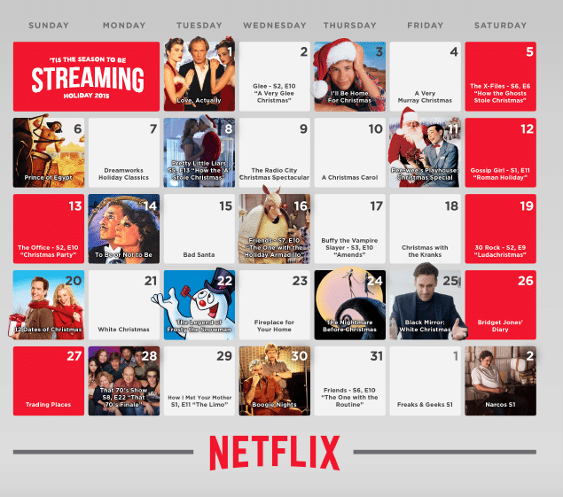 'Tis the season for streaming Netflix + Giveaway