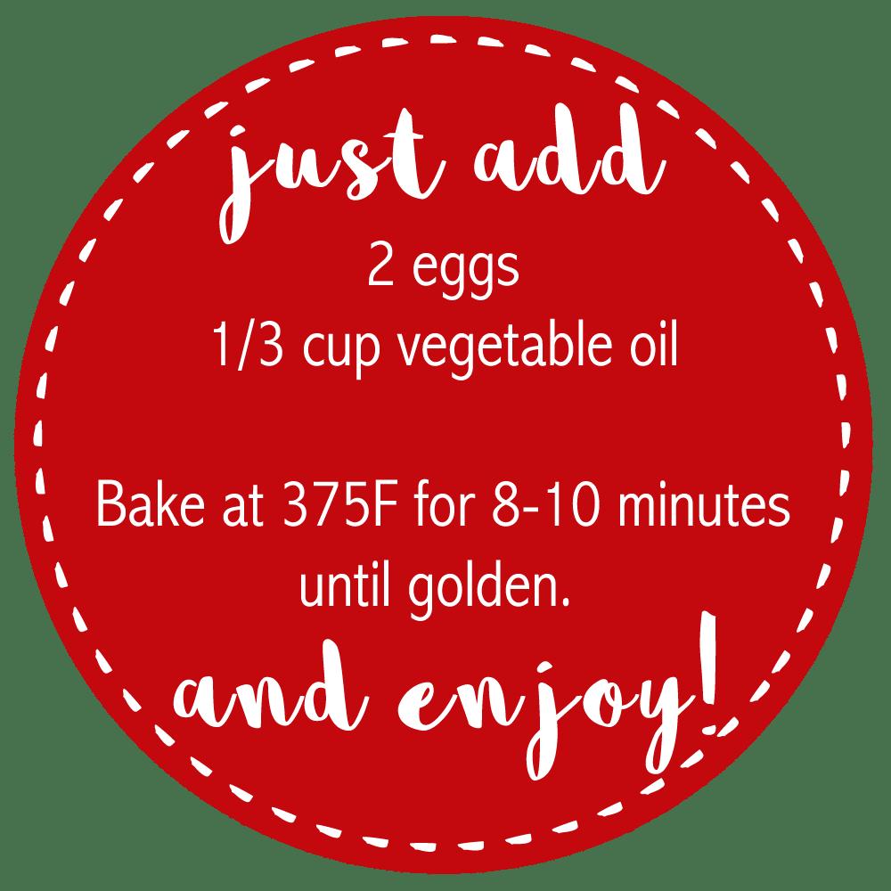 Cookie bar jar printable tag