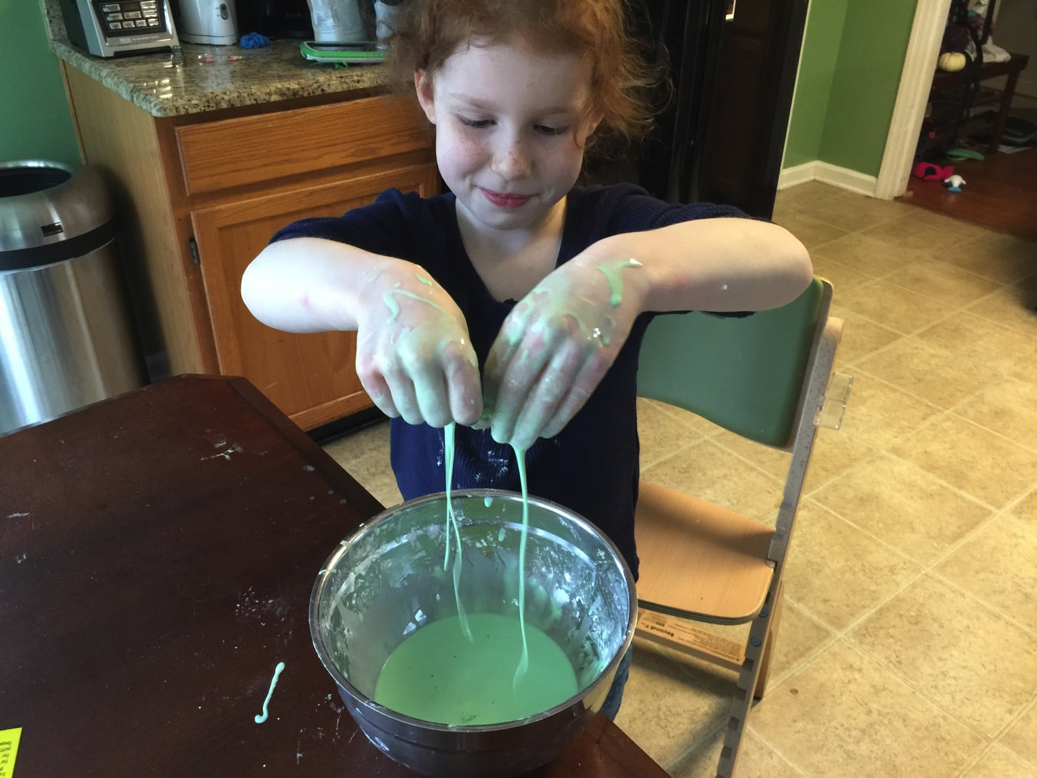 making slime with fantastic four | 5 different kinds of slime