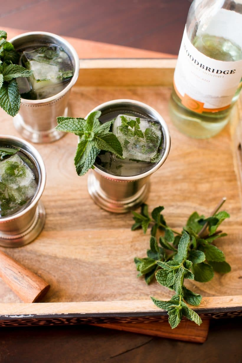 Mint Blue Julep Recipe
