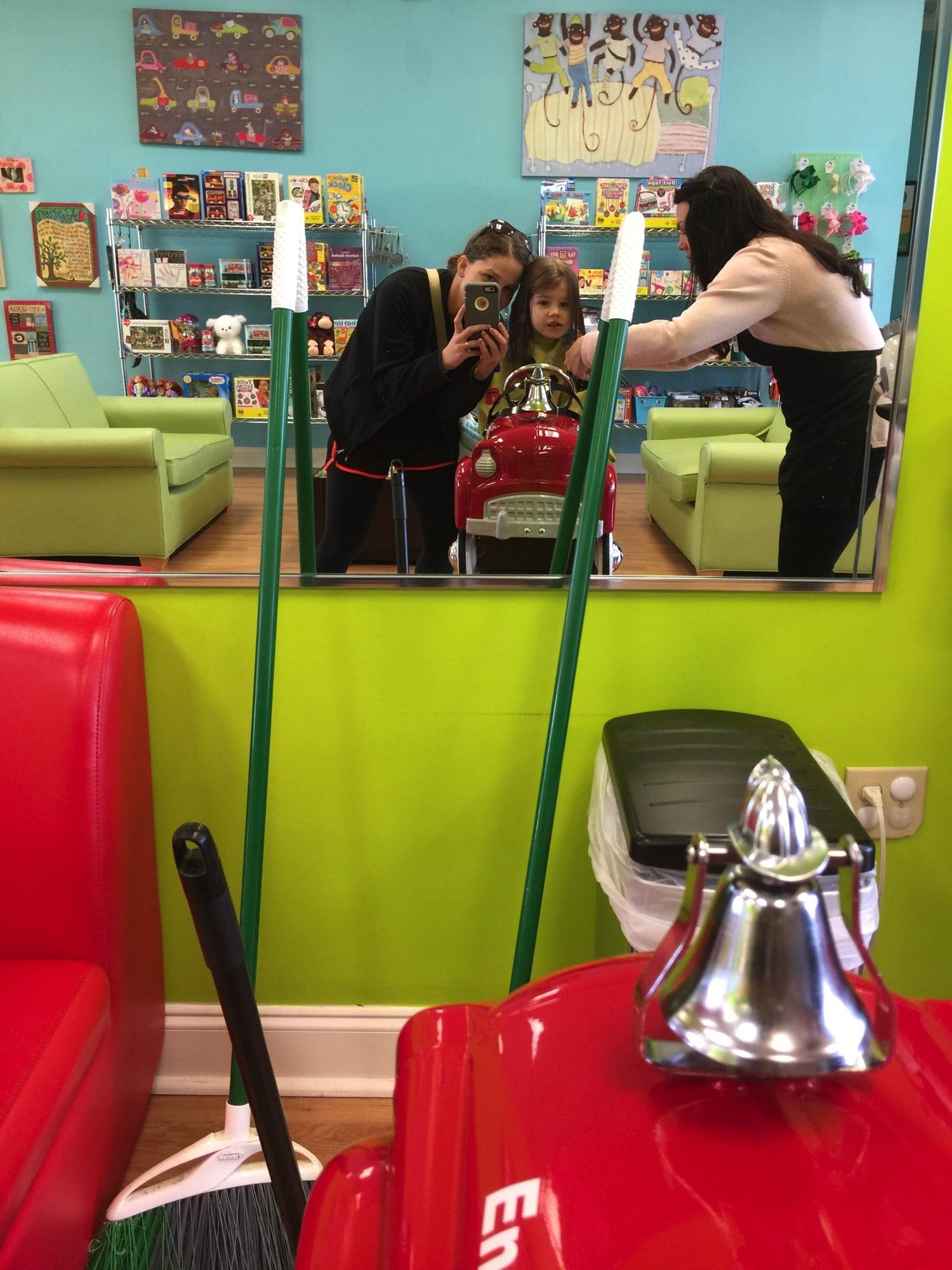 The haircut donation