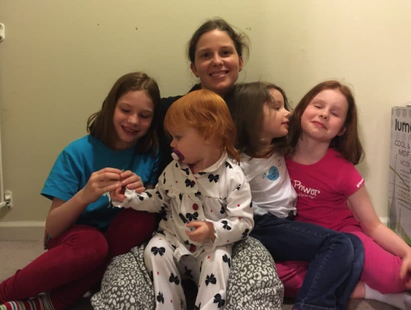 With ALL the girls | Mommy and Me Monday | 315th ed