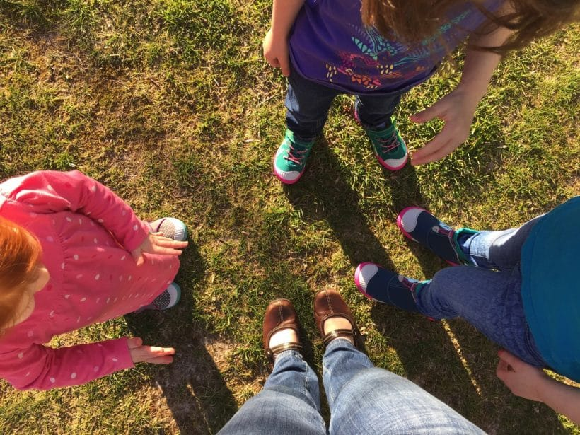 Their shoes are cooler than mine | Mommy and Me Monday | 316th ed