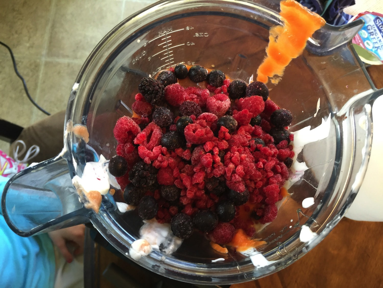 whole milk greek yogurt vegetable sneaking frozen pop recipe | kids in the kitchen