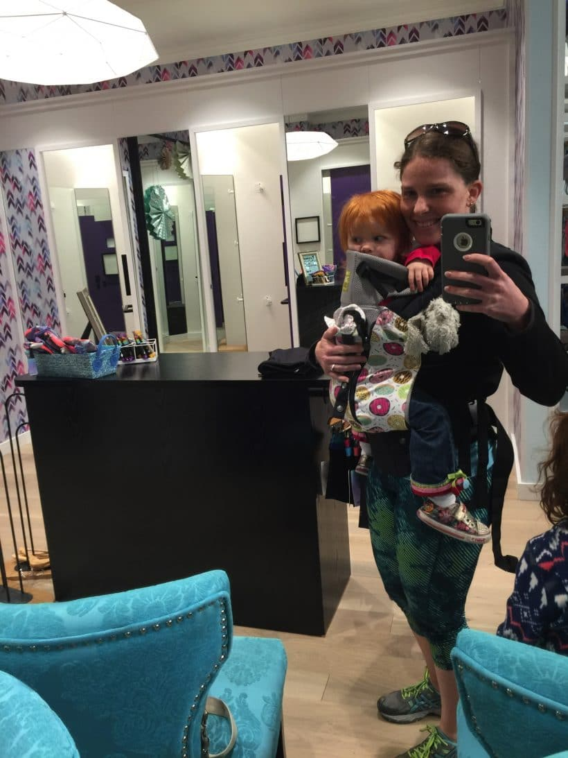 A fitting | Mommy and Me Monday | 321st ed