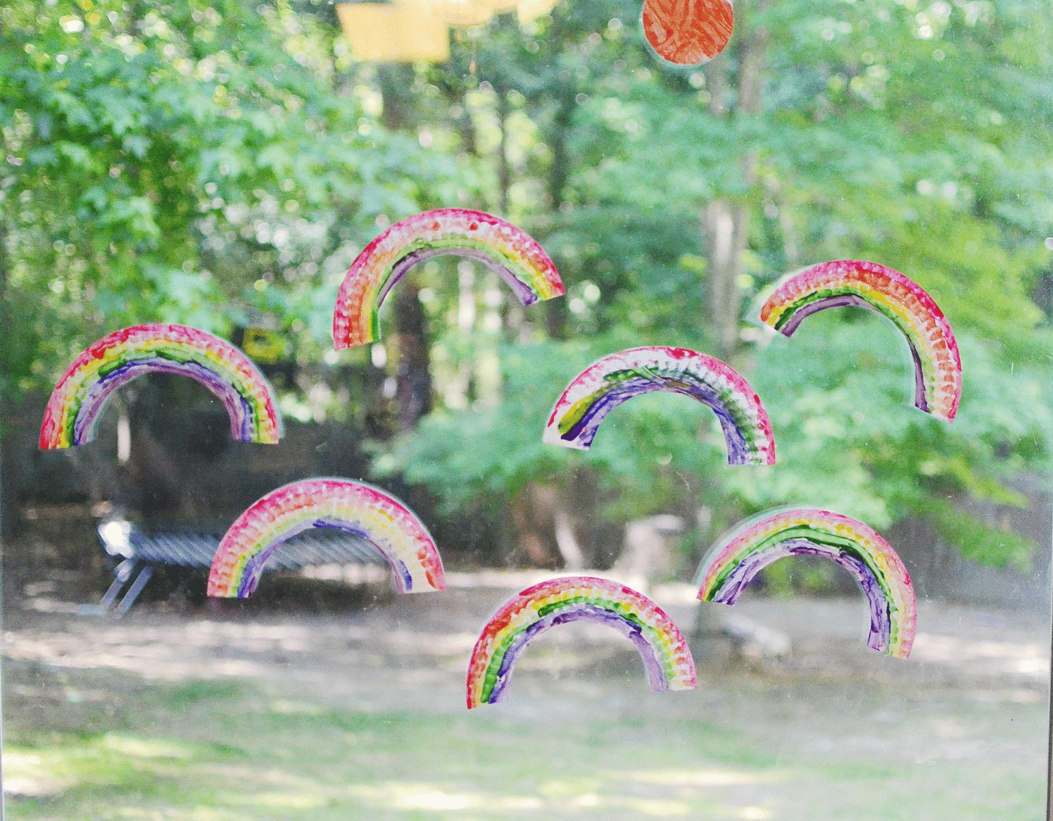 Rainbows to build teamwork