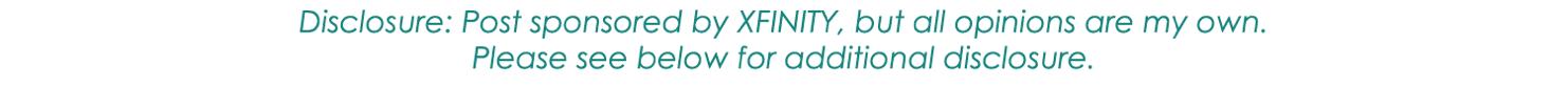 XFINITY sponsored