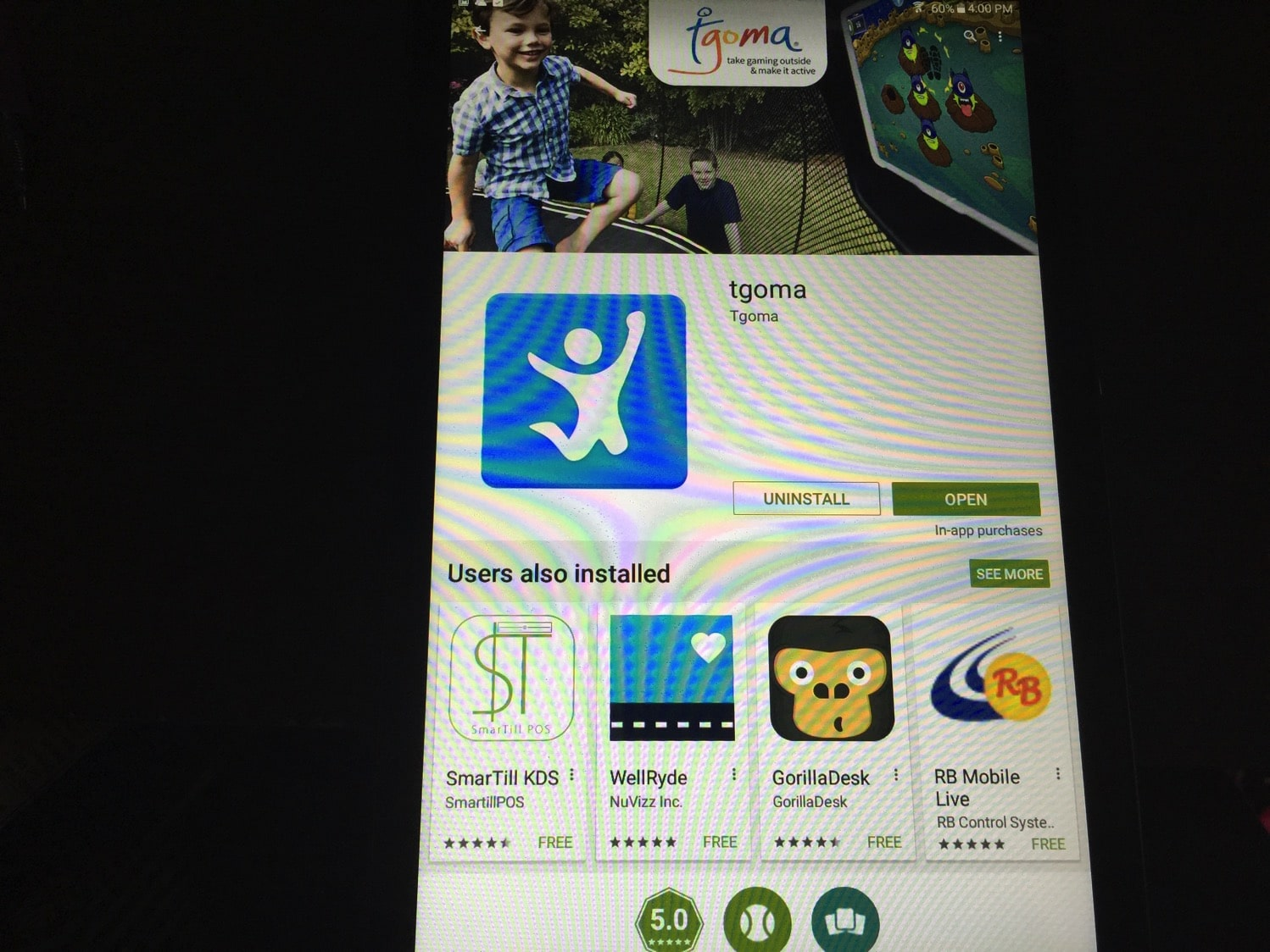 How to Setup your tgoma System on your tablet with Springfree