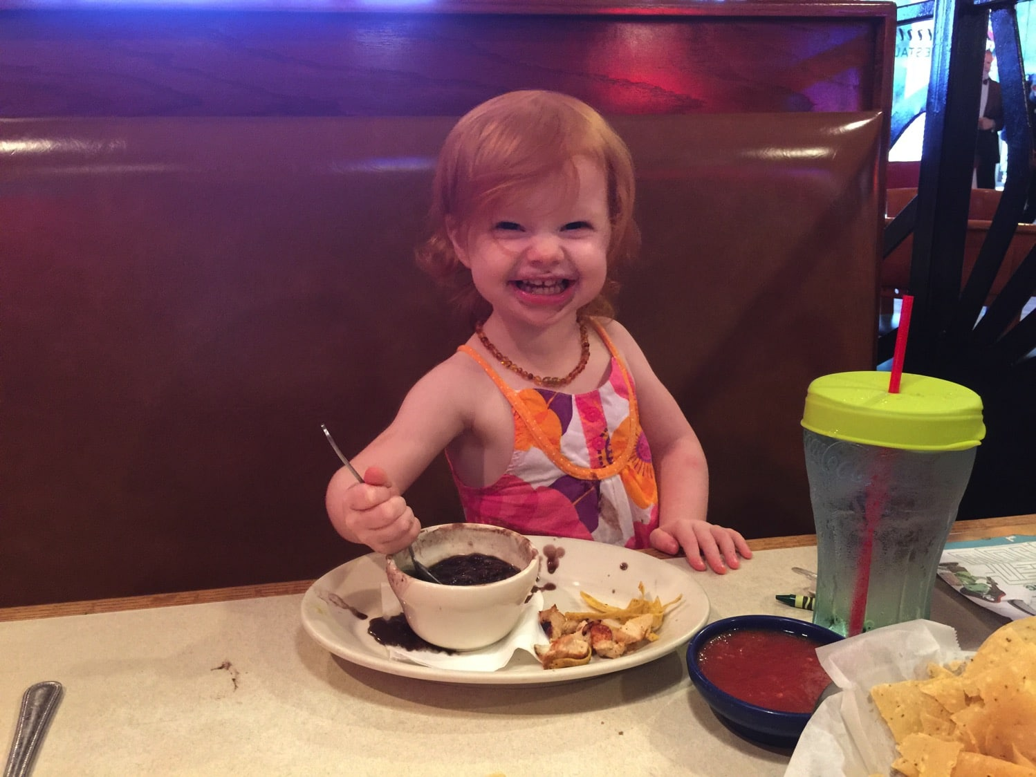 Lunch with B   Mommy and Me Monday   Boon Snug Review