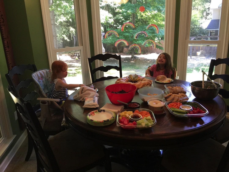 summer neighborhood party