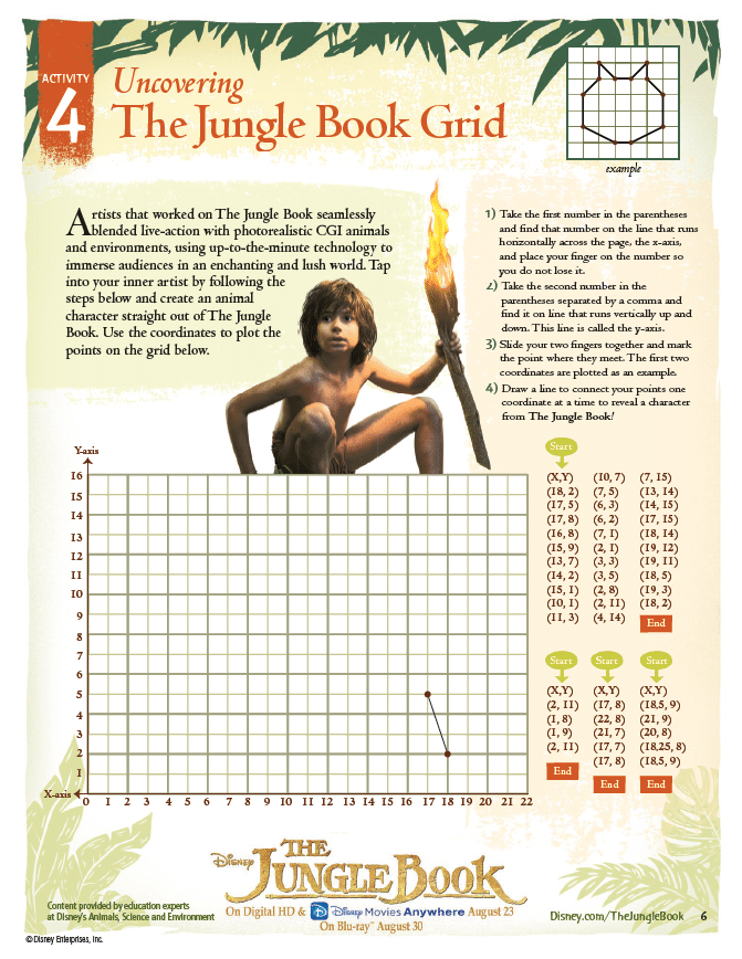 The Jungle Book Grid