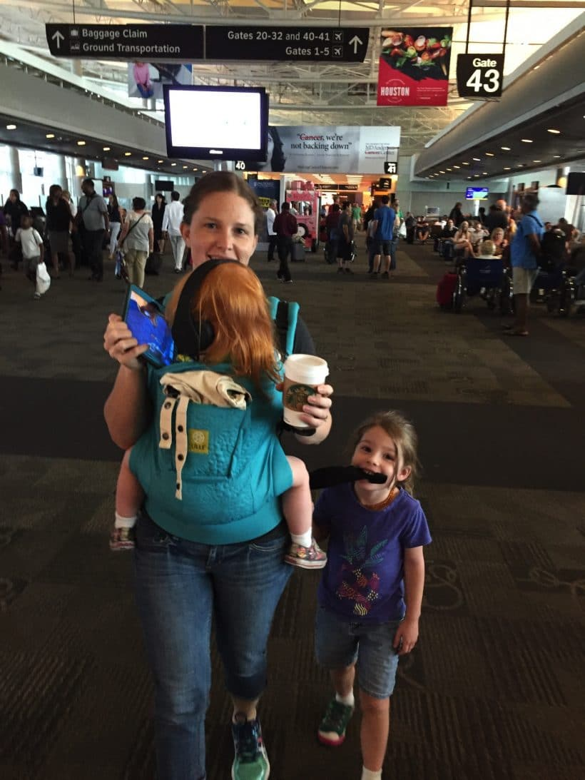 Mommy and Me Monday | The Airport Delay 341st ed