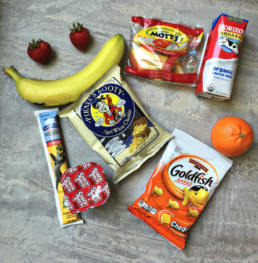 nut-free school lunch add-ons