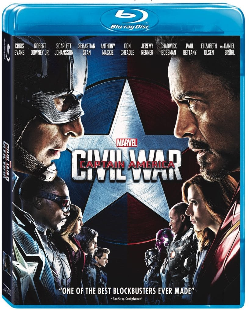 Marvel's Captain America: Civil War now on Blu-ray™ 3D, Blu-ray, DVD and On-Demand