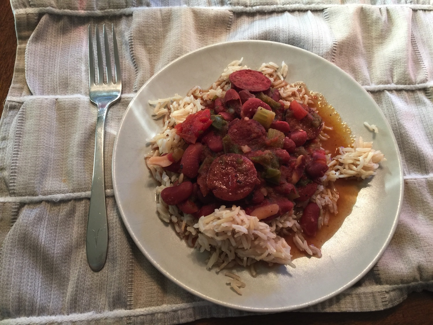 Red Beans and Rice in the Instant Pot