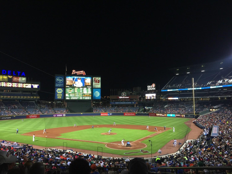 date night at the baseball field