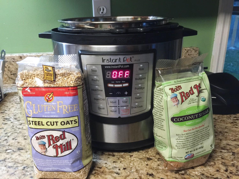 steel cut oats in the instant pot