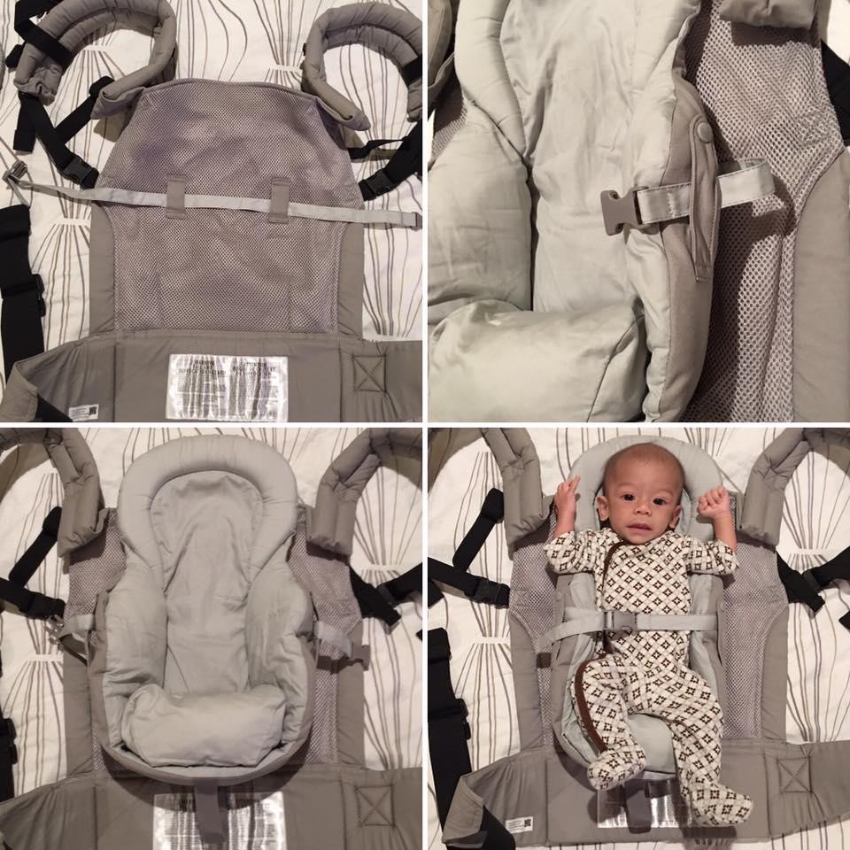 Essentials insert with baby