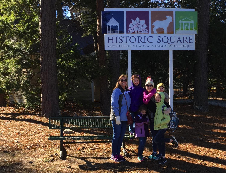 Atlanta Tours | Historic Square at Stone Mountain