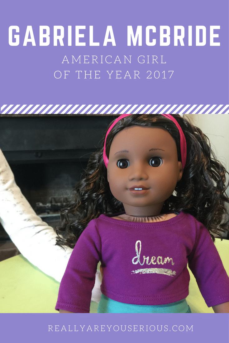 Gabriela McBride american girl of the year 2017