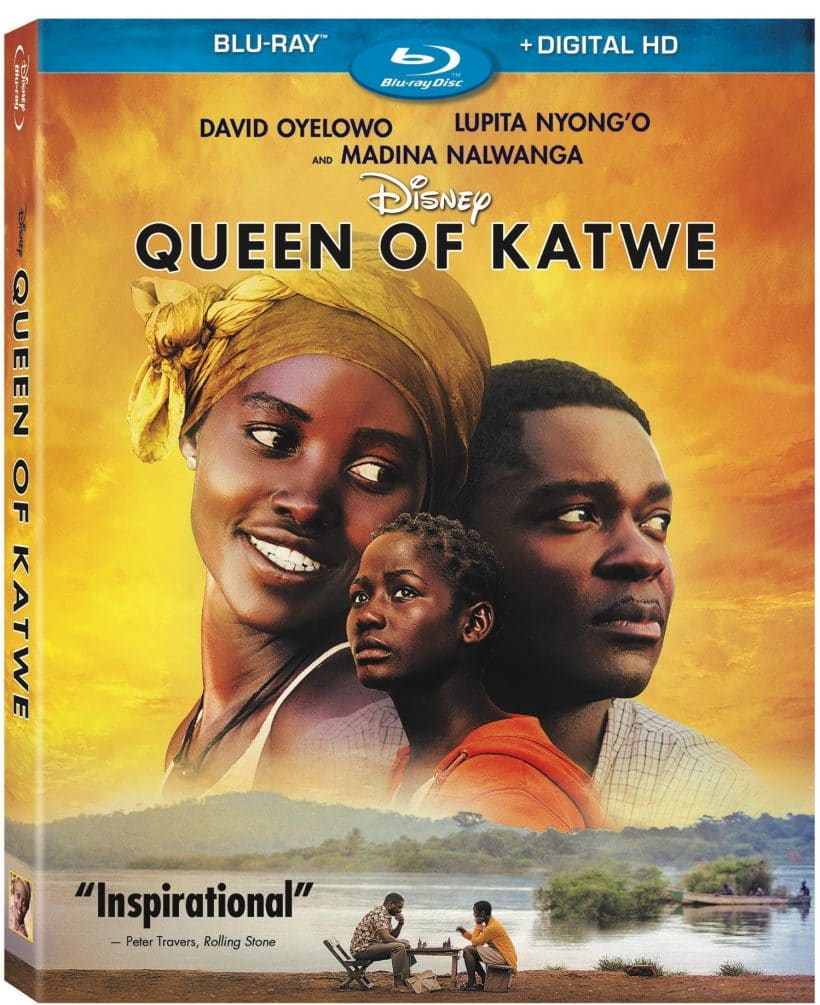 Queen of Katwe now on BLU-RAY