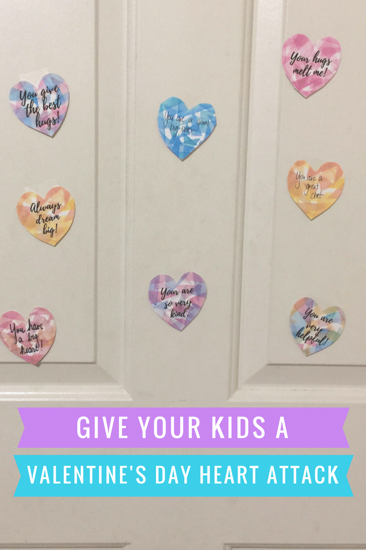 Give your kids a Valentine's Day Heart Attack (free printable)