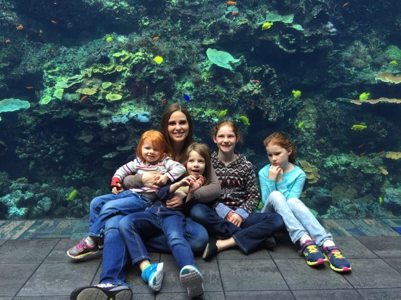The Aquarium for the 7th Anniversary of Mommy and Me Monday | 367th ed