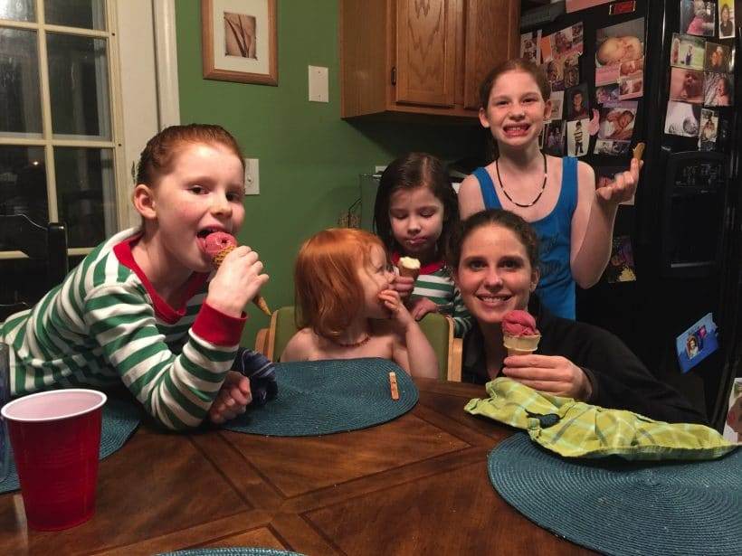 Ice cream and Us | Mommy and Me Monday | 366th ed